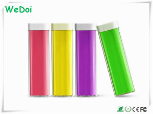 Promotional Lipstick Power Bank with 1 Year Warranty Low Cost (WY-PB05) pictures & photos
