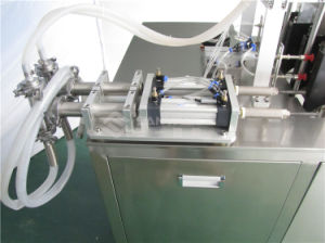 China Shenzhen Two Head Face Mask Filling Sealing Bagging Machine pictures & photos