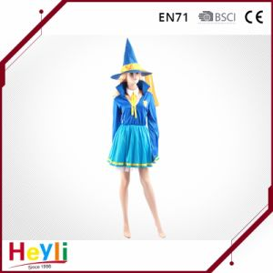Popular Sexy Women Girls Halloween Witches Cosplay Dress Costumes pictures & photos