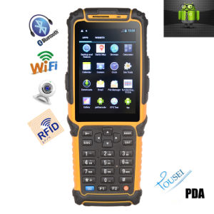 Android 4.2 OS Tablet PC Data Terminal Ts-901s Barcode Scanner with Display PDA pictures & photos