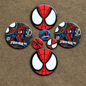 Cheap Tinplate Printed Pin Safety Button Badge pictures & photos
