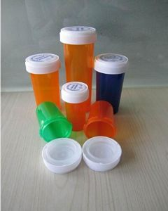 Cylinderical Waterproof Reversible Cap Weed Storage Container pictures & photos