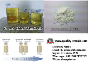 Injectable Oil Testosterone Cypionate 250mg/Ml for Muscle Buidling pictures & photos