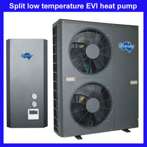 Low Temperature Evi Split Type Heat Pump Work at -25′c pictures & photos