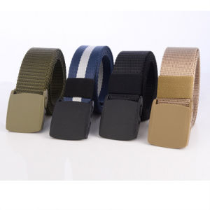 Custom Army Polyester Fabric Belt pictures & photos