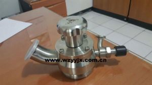 Aseptic Radial Diaphragm Tank Bottom Valve (PTFE) pictures & photos
