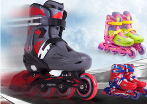 Adjustable Inline Skate with En 71 Certification (YV-136) pictures & photos