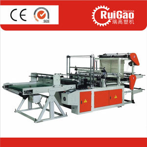 High Speed Biodegradable HDPE Plastic Cloth Bag Making Machine Price pictures & photos