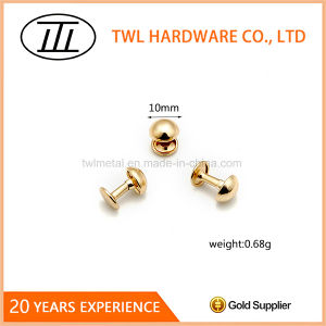 High Quality Low Price 10mm Mushroom Iron Rivet pictures & photos