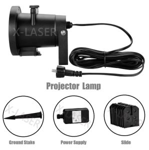 IP65 Waterproof Christmas Outdoor Snow Snowflake Pattern LED Projector Laser Light for Garden Yard pictures & photos