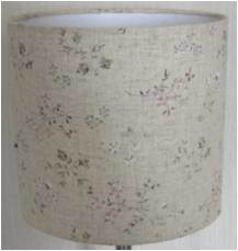 Printed Fabric Lampshade for Table and Pendant