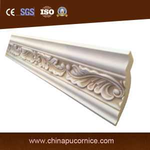 PU Building Material Indoor Decorative Cornice Boarding pictures & photos
