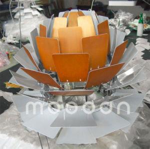 European Version 100% Replica Aluminum Pine Cone pH Artichoke Pendant Lamp with White and Copper Color pictures & photos