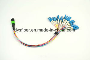 12 Fiber MTP/MPO Fiber Optic Cable pictures & photos