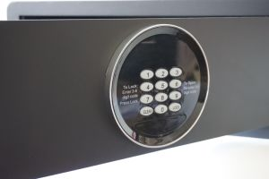 Laser Cutting Electronic Safe Box for Hotel and Home Use pictures & photos