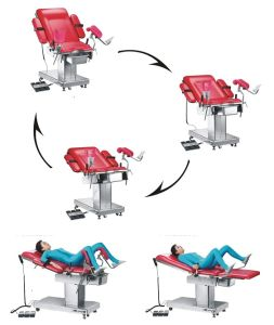 Electric Surgical Obstetric Delivery Table pictures & photos