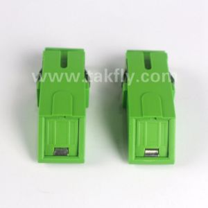 Sc/APC Duplex Shutter Fiber Optical Adapter pictures & photos