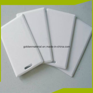 ISO Standard PVC Sheet Bank Plastic Smart Card pictures & photos