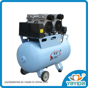 Foshan High Quality Oilless and Silent Dental Air Compressor 60L pictures & photos