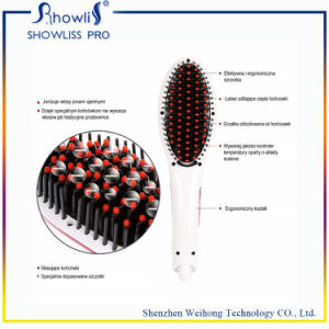 Beauty Star Hair Straightener Brush pictures & photos
