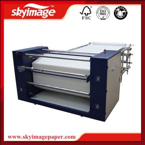 Hot Selling Trend Style 600mm*1.7m Rotary Heat Transfer Machine for Roll Textile Printing pictures & photos