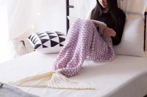 Christmas Gift Mermaid Tail Blanket Mermaid Tail Adult and Chindren Mermaid Blanket pictures & photos