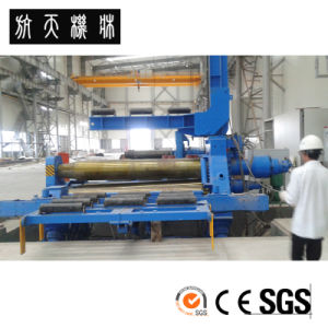 Four-Roll Bending Rolls W12H-40*2000 Rolling Machine pictures & photos