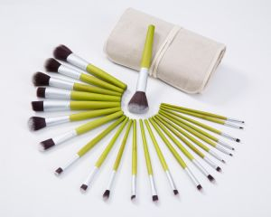 23PCS Animal Hair Cosmetic Makeup Brush with Cloth Bag pictures & photos