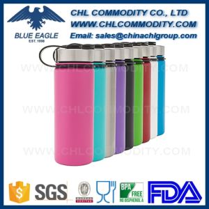 Factory Wholesale Insulated Hydro Flask Bottle with Handle Lid pictures & photos