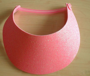Adjustable Coil EVA Foam Sun Visor Cap pictures & photos