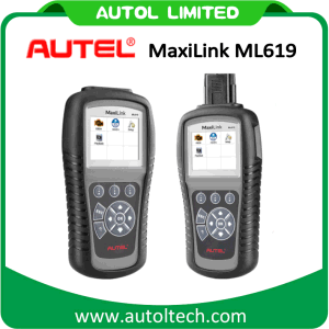 (Solo Agent) Autel Maxilink Ml619 OBD Diagnostic Scan Tool Better Than Al619 Ml 619 ABS/SRS System Diagnosis Code Reader Scanner for Cars pictures & photos