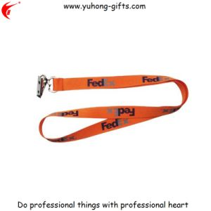 High Quality Custom Eco-Friendly Polyester Material Lanyard (YH-L1240) pictures & photos