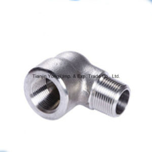 304 Stainless Steel Male and Female Elbow pictures & photos
