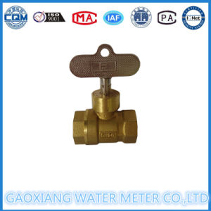 Water Meter Brass Lockable Valve pictures & photos