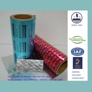 Medicine Packaging Aluminum Foil in 0.024mm Thickness with Alloy 8011 pictures & photos