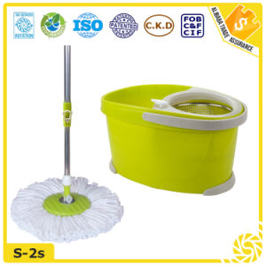 Eco-Friendly Feature Easy Microfiber Mop 360 pictures & photos