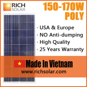 150W Made in Vietnam 12V Solar Panel pictures & photos