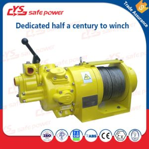 1t Remote Control Air Winch Hoist for Lifting Heavy Cargo pictures & photos