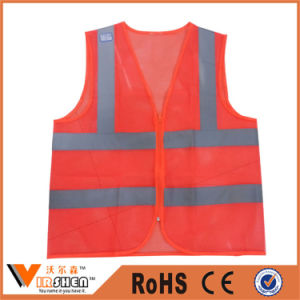 Waterproof Safety Reflective Vest for Road Safety Warning Reflective Clothing pictures & photos