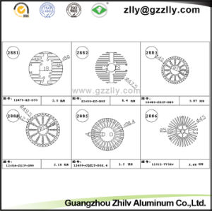 Guangzhou Zhilv Aluminum Profile Extrusion Heat Sinks/Radiator/Cooler/Heatsink pictures & photos
