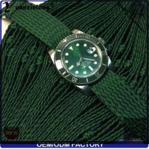 Yxl-030 Custom Logo Watches Perlon Strap 3ATM Water Resistant Quartz Watch Promotional Fashion New Design Men Watches Factory pictures & photos