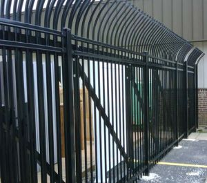 Long Life Free Maintenance Powder Coated Security Fence for Commercial&Industrial Construction pictures & photos