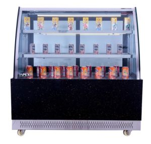 Cake Display Chiller Refrigerator Showcase with Stainless Steel pictures & photos