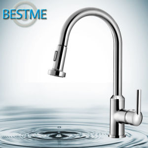 Polished Changeable Brass Body Kitchen Faucet (BF-20202) pictures & photos