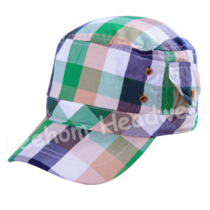 Check Printed Military Sports Hats for Army pictures & photos