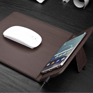 Qi Wireless Charger Mousepad Mouse Mat pictures & photos