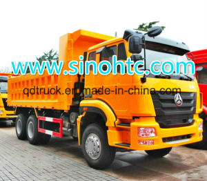 HOWO Top Model T5g 6X4 Dump Truck with Man Engine pictures & photos