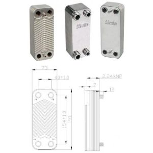 Brazed Plate Heat Exchanger for Chiller pictures & photos