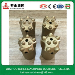 30-45mm 7/11/12 Degree Tapered 7-8button Drill Bit pictures & photos