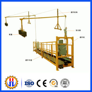 Window Cleaning Hosit Rope Suspended Platform pictures & photos